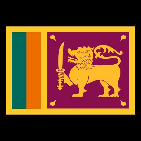 country flag of Sri Lanka
